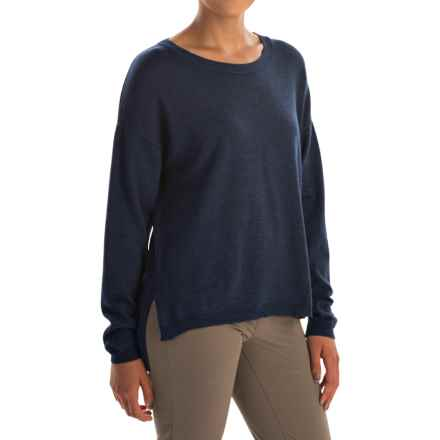 Ivanhoe of Sweden Alma Sweater - Merino Wool (For Women) in Steel Blue - Closeouts