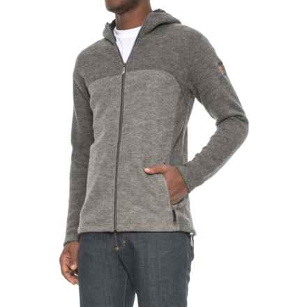Ivanhoe of Sweden Alvar Hooded Jacket - Boiled Wool (For Men) in Grey - Closeouts