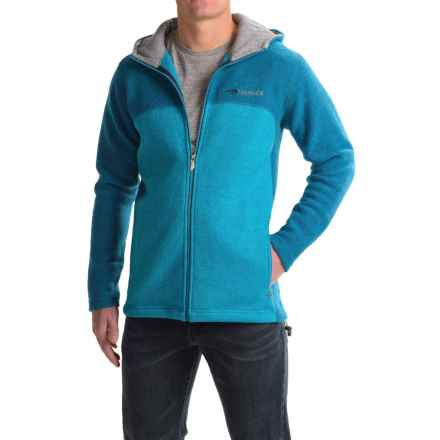 Ivanhoe of Sweden Alvar Sweater- Wool, Full Zip (For Men) in Turquoise - Closeouts