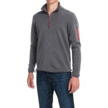 Ivanhoe of Sweden Assar Pullover Sweater - Zip Neck, Merino Wool (For Men) in Grey - Closeouts