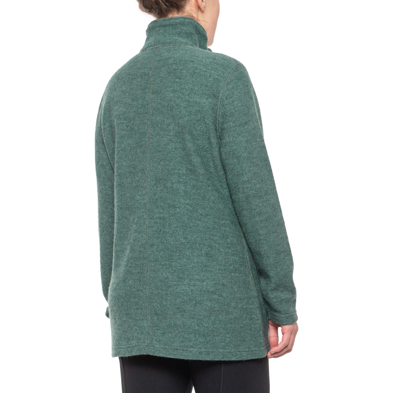 Ivanhoe of Sweden Bella Long Jacket Boiled Wool (For Women)