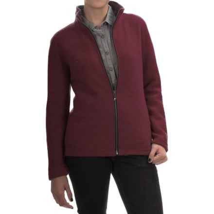 Ivanhoe of Sweden Brodal FM Jacket (For Women) in Bordeaux - Closeouts