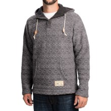 Ivanhoe of Sweden Chris Hoodie - Boiled Wool (For Men) in Grey - Closeouts