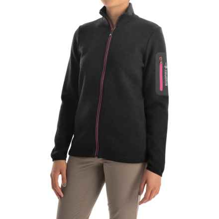 Ivanhoe of Sweden Flisan FZ Jacket - Merino Wool (For Women) in Black - Closeouts