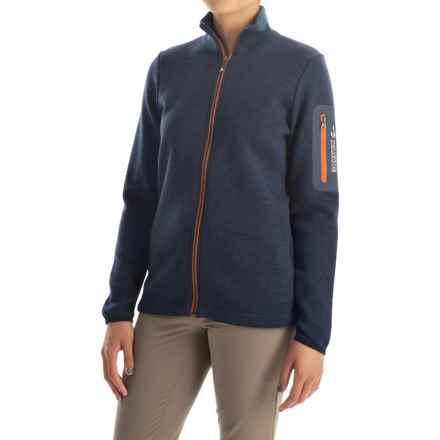 Ivanhoe of Sweden Flisan FZ Jacket - Merino Wool (For Women) in Steel Blue - Closeouts