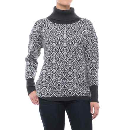 Ivanhoe of Sweden GY Korrebo Sweater - Cowl Neck (For Women) in Grey - Closeouts