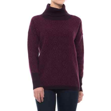 Ivanhoe of Sweden GY Korrebo Sweater - Cowl Neck (For Women) in Raspberry - Closeouts