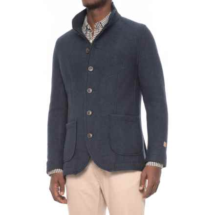 Ivanhoe of Sweden GY Mark Wool Jacket (For Men) in Admiral - Closeouts