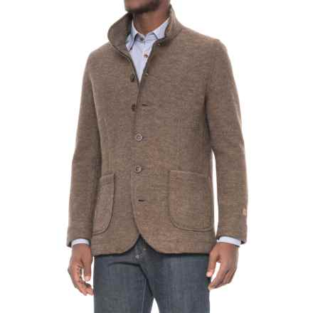 Ivanhoe of Sweden GY Mark Wool Jacket (For Men) in Dark Khaki - Closeouts