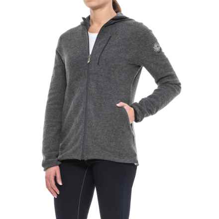 Ivanhoe of Sweden Halo Jacket (For Women) in Graphite Marl - Closeouts