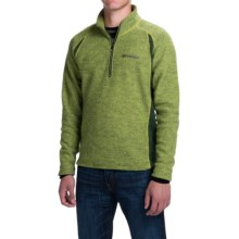 Ivanhoe of Sweden Kaj Jacket - Boiled Wool, Zip Neck (For Men) in Apple - Closeouts