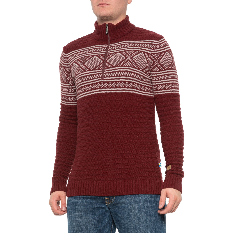 Ivanhoe of Sweden Rumba Red Mattis Sweater (For Men) Save 48%