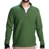 Ivanhoe of Sweden Rune Boiled Wool Sweater - Zip Neck (For Men)