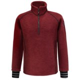 Ivanhoe Rune Boiled Wool Sweater - Zip Neck (For Men)