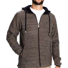 Ivanhoe Teo Boiled Wool Hoodie (For Men) in 043 Dark Khaki - Closeouts