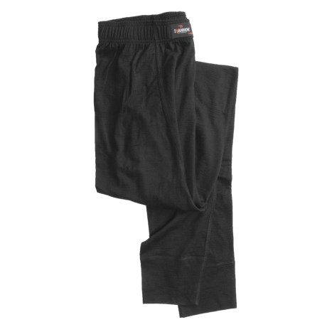 Ivanhoe Underwool Base Layer Bottoms - Merino Wool, Lightweight (For Men) in Black