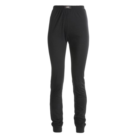Ivanhoe Underwool Thin Base Layer Bottoms - Merino Wool, Lightweight (For Women) in Black