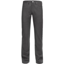 Ivory Wool Heather 5-Pocket Pants (For Men) in Moss - Closeouts