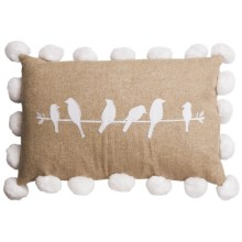 "Ivy Hill Home Amara Decor Pillow - 14x20"" in Fall Birds - Overstock"