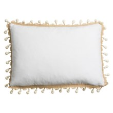 "Ivy Hill Home Amara Decor Pillow - 14x20"" in Solid Beaded - Overstock"