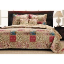Ivy Hill Home Kismet Reversible Quilt Set - King in Kismet - Overstock