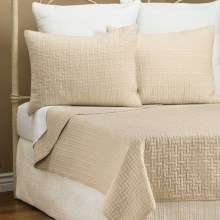 Ivy Hill Home Landon Quilt Set - King in Birch - Overstock