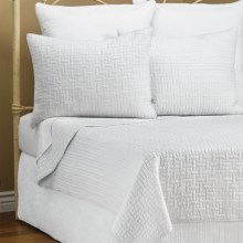 Ivy Hill Home Landon Quilt Set - King in Whisper White - Overstock