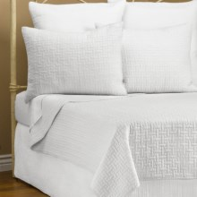 Ivy Hill Home Landon Quilt Set - Twin in Whisper White - Overstock