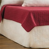 Ivy Hill Home Winslet Quilted Bed Skirt - King