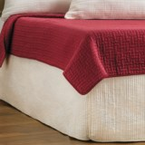Ivy Hill Home Winslet Quilted Bed Skirt - Queen