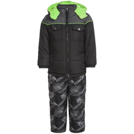 iXtreme Color-Block Arrow Print Snowsuit - Insulated (For Little Boys) in Black