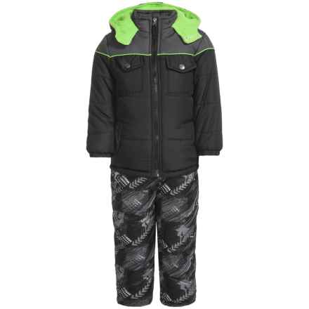 iXtreme Color-Block Arrow Print Snowsuit - Insulated (For Toddler Boys) in Black - Closeouts
