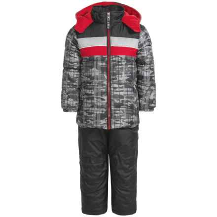 iXtreme Color-Block Camo Print Snowsuit - Insulated (For Toddler Boys) in Black - Closeouts