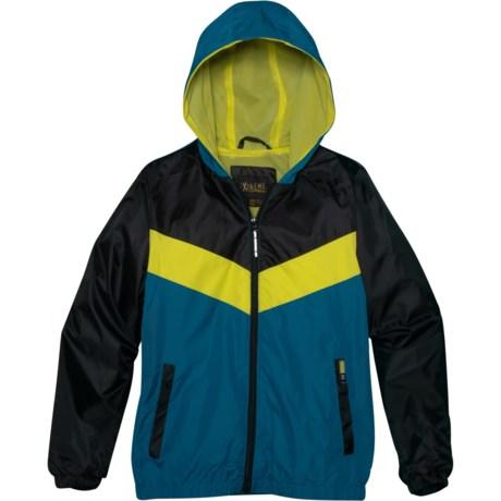 big sale aa796 6021c iXtreme Color-Block Windbreaker Jacket - Full Zip (For Big Boys) in Blue