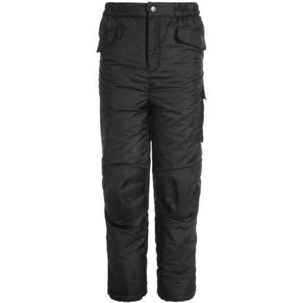 iXtreme Snow Pants - Insulated (For Little Boys) in Black - Closeouts