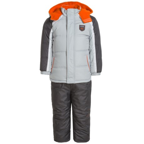 iXtreme Stripe Sleeve Color-Block Snowsuit - Insulated (For Toddler Boys)
