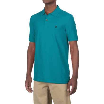 IZOD Advantage Polo Shirt - UPF 15, Short Sleeve (For Men) in 421 Caneel Bay - Closeouts