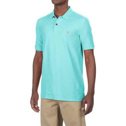 IZOD Advantage Polo Shirt - UPF 15, Short Sleeve (For Men) in 477 Blue Radiance - Closeouts