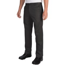 IZOD American Chino Pants - Wrinkle-Free, Slim Fit (For Men) in Black - Closeouts