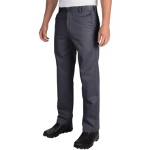 IZOD American Chino Pants - Wrinkle-Free, Slim Fit (For Men) in Navy - Closeouts