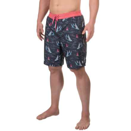 IZOD Boardshorts - UPF 50 (For Men) in 30 Anchor - Closeouts