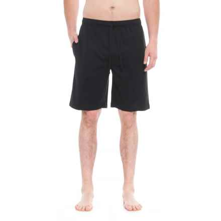 IZOD Breathable Lounge Shorts (For Men) in Black - Closeouts