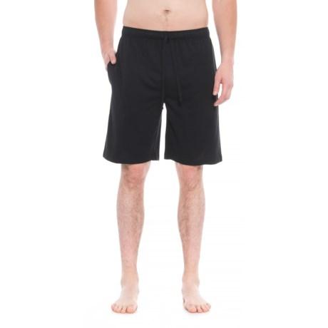 IZOD Breathable Lounge Shorts (For Men) in Black