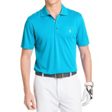IZOD Champion Solid Grid Polo Shirt - UPF 20, Short Sleeve (For Men) in Hawaiian Ocean - Closeouts