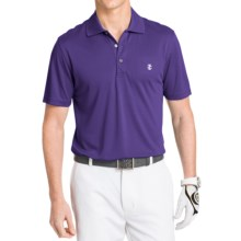 IZOD Champion Solid Grid Polo Shirt - UPF 20, Short Sleeve (For Men) in Parachute Purple - Closeouts