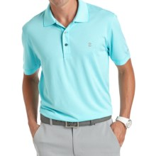 IZOD Greenie Feeder Striped Polo Shirt - UPF 15, Short Sleeve (For Men) in Blue Radiance - Closeouts