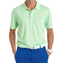 IZOD Greenie Feeder Striped Polo Shirt - UPF 15, Short Sleeve (For Men) in Green Ash - Closeouts