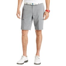 IZOD Herringbone Cargo Golf Shorts (For Men) in High Rise - Closeouts