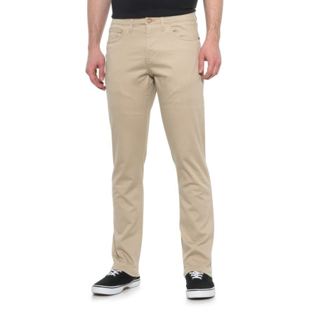 965c6fb7c8fdb IZOD Khaki Twill SportFlex Pants (For Men) in Khaki - Closeouts