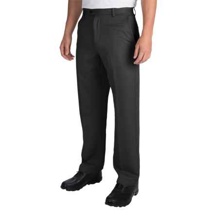 IZOD Micro-Sanded Golf Pants - UPF 50 (For Men) in Black - Closeouts